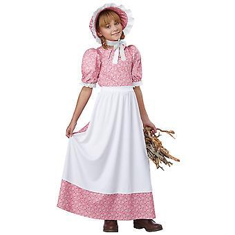 في وقت مبكر فتاه امريكيه الاستعمارية بايونير البراري القديمة يوم الحدود الفتات حلي