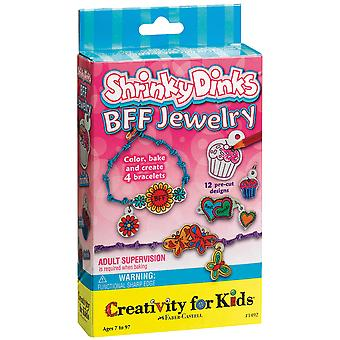 Creativity For Kids Activity Kits Shrinky Dinks Bff Jewelry 1492Ck