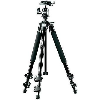 Tripod Mantona mantona Scout Stativ mit Kugelkopf, 142c 1/4, 3/8 ATT.FX.WORKING_HEIGHT=45 - 142 cm Black Ball head