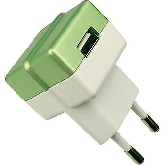 USB charger Mains socket HN Power HNP05-ECO-GREEN-C Max. output current 1000 mA 1 x USB