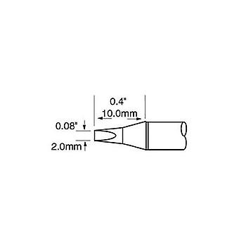 Soldering tip Chisel-shaped OKI by Metcal Tip size 2 mm Tip length 10 mm Content 1 pc(s)