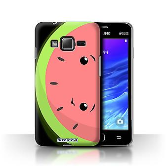 STUFF4 Case/Cover for Samsung Z1/Z130/Watermelon/Kawaii Food