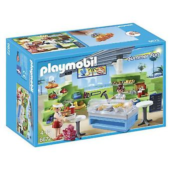 Playmobil 6672 Splish Splash Café (Toys , Dolls And Accesories , Miniature Toys , Sets)