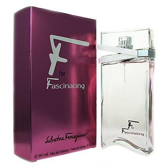Ferragamo F for Fascinating Women 3 oz EDT Spray