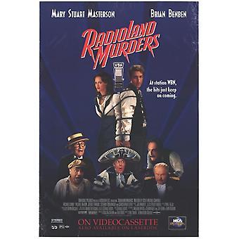 Постер фильма Radioland убийства (11 x 17)