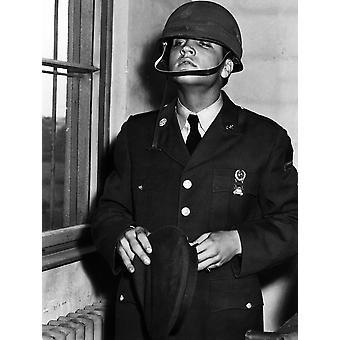 Private Elvis Presley In Friedburg Germany October 2 1958 Photo Print