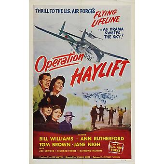 Operation Haylift Movie Poster Print (27 x 40)
