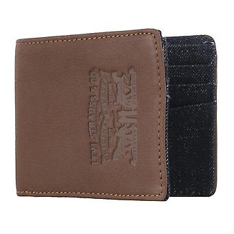 Levi BB´s men's purse wallet purse blue/Brown 4926