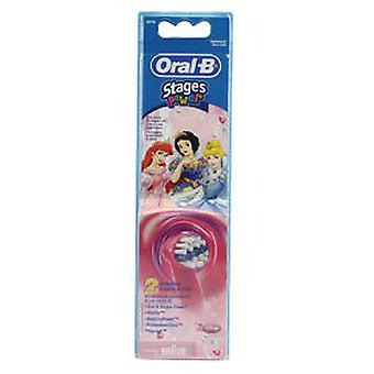 Oral B Replacement Brush EB102 Stages Power Kids 2 pcs