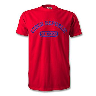 Czech Republic Soccer Kids T-Shirt