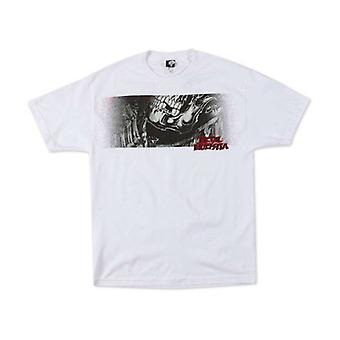 Metal Mulisha Mens Bomb White Tshirt Grenade Skeleton Bones