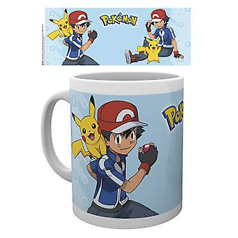 Pokemon Ash mugg