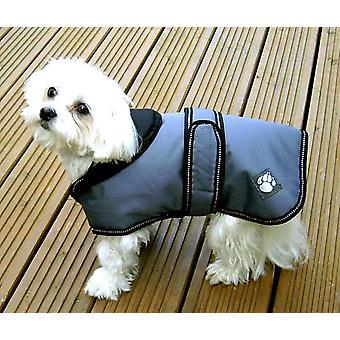 Luxury Coat Dusty Blue Waterproof Dog Coat 65cm (26