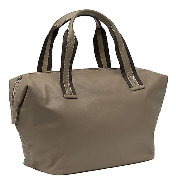 Burgmeister ladies handbag T209-515B leather taupe