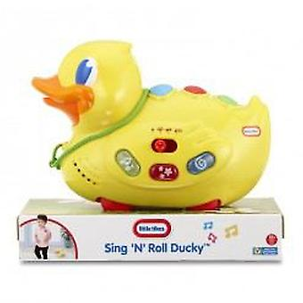 Little Tikes Drag Musical Duck (Toys , Preschool , Babies , Push And Pull Toys)