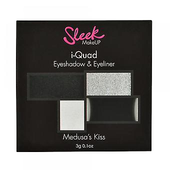 Sleek Make Up Shadow Palette Medusa's Kiss I-Quad (Woman , Makeup , Eyes , Eyeshadows)