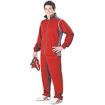 Cliff Keen alle amerikanischen Wrestling Warm-up Suit - Scarlet/grau