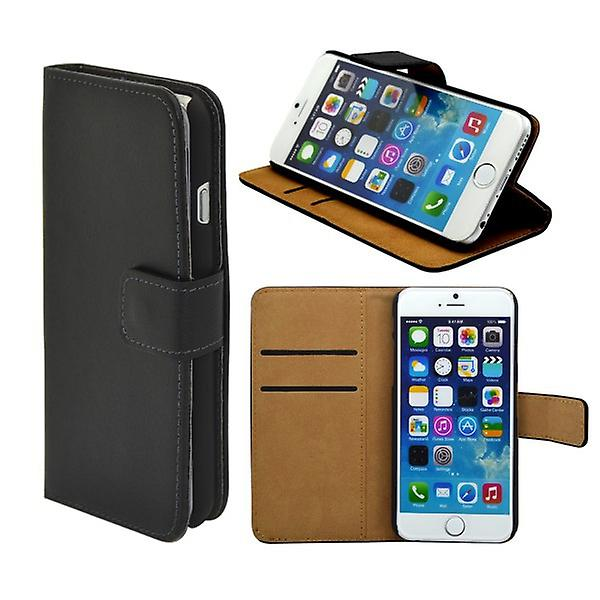 Wallet Pocket Deluxe black for Apple iPhone 6 4.7