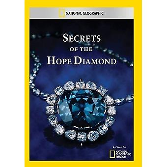 Secrets of the Hope Diamond [DVD] USA import