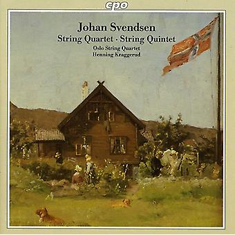 J. Svendsen - Svendsen: String Quartet; String Quintet [CD] USA import