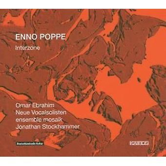 Ebrahim: Voc/Neue Vocalsolis - Enno Poppe: Interzone [CD] USA import