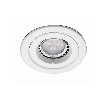 Ansell ICage Mini Downlight 50W GU10 mate blanco