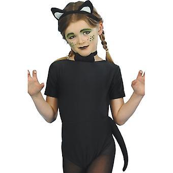 Children costume cat cat costume kids Kitty 3-piece set