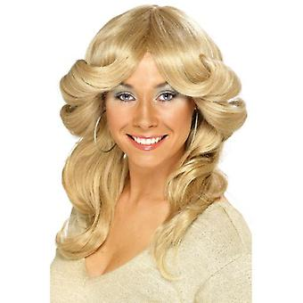 Smiffys 70S Flick Wig Blonde Long Wavy & Layered (Costumes)