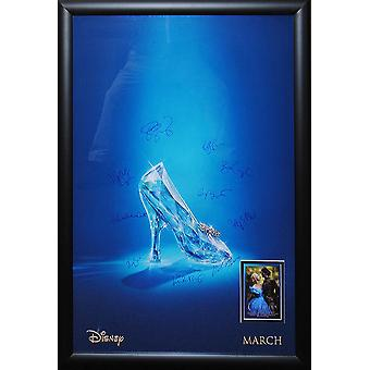 Cinderella - Signed Movie Poster