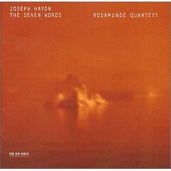 Rosamunde Quartet - Joseph Haydn: The Seven Words [CD] USA import