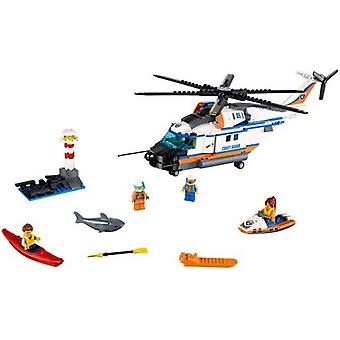 Lego 60166 City Heavy-duty Rescue Helicopter (Toys , Constructions , Vehicles)
