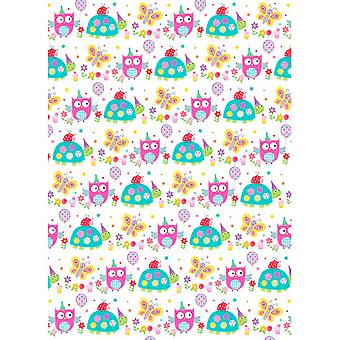 Simon Elvin Childrens Girls 24 Sheets Gift Wraps