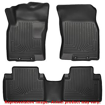 Husky Liners 98671 Black WeatherBeater Front & 2nd Seat FITS:NISSAN 2014 - 2014