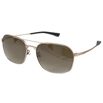 Police S8952M 648X RIVAL 1 Aviator Sunglasses S8952