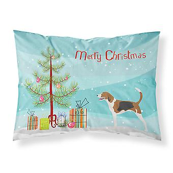 American Foxhound Weihnachten Stoff Standard Kissenbezug