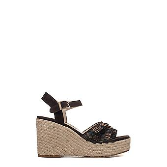 Paloma Barceló women's PGCORAB1 brown leather sandals