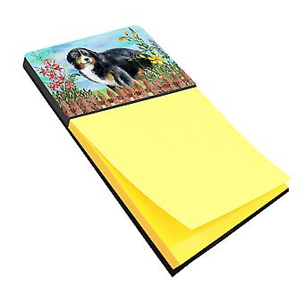 Carolines Treasures  CK1207SN Bernese Mountain Dog Spring Sticky Note Holder
