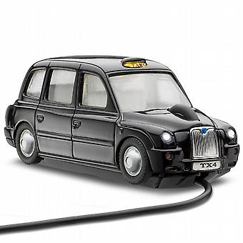 MotorMouse London TX4 Taxi kablet optiske musen - svart