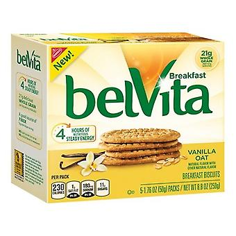 Belvita Breakfast Sandwich Vanilla Oat 2 Box Pack