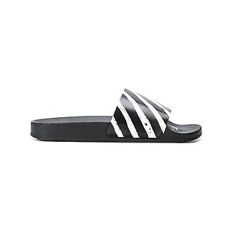 Off-white mænds OMIA063S187970168800 sort gummi sandaler