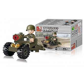 Sluban Building Blocks Army Serie Soldier