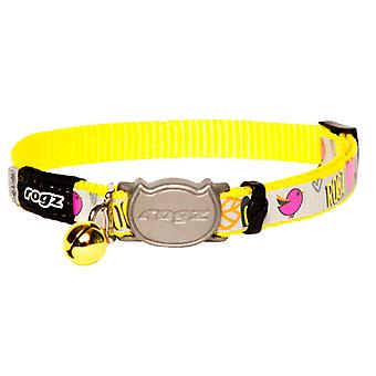 Rogz Reflectocat Collar 8-12