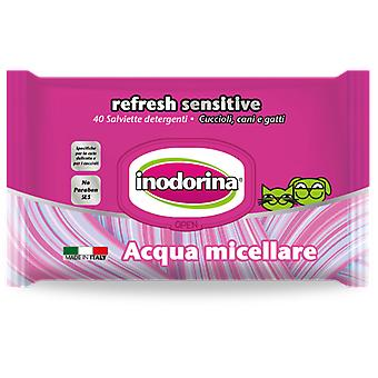 Inodorina Micellar Sensitive Hygienic Wipes For Dogs And Cats