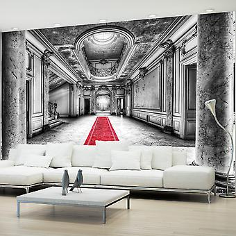 Artgeist Wallpaper Mystery marble black and white (Decoration , Vinyls)