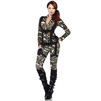 Hübsche Fallschirmjäger Militär Armee Soldat FBI Top Gun SWAT Frauen Kostüm