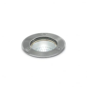 Ideal Lux Play Park Round Chrome Face Wall Over Light