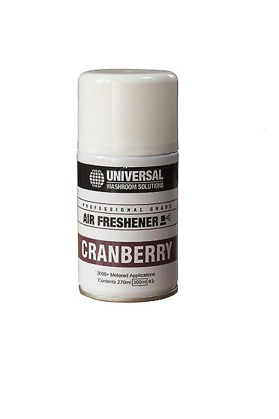Unisol Air Freshener Refills 270ml | Aerosol Fragrance Refills Cranberry | Case Of 12