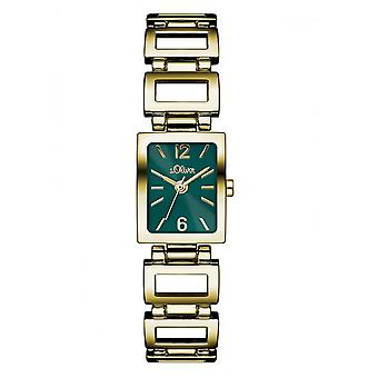 s.Oliver ladies watch wrist watch SO-3066-MQ gold