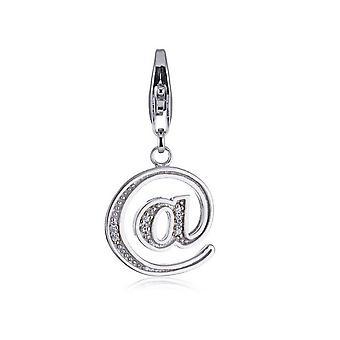 ESPRIT pendant of charms silver ' @' ESCH90869A000