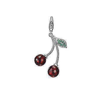 ESPRIT pendant of charms silver cherry ESZZ90745A000